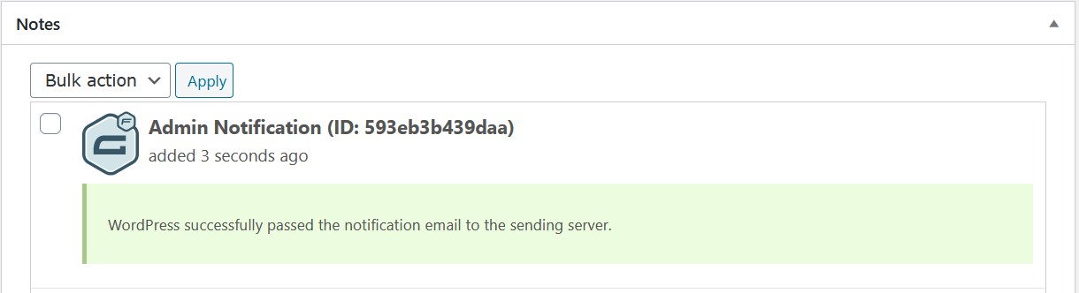 Troubleshooting Notifications Gravity Forms Documentation