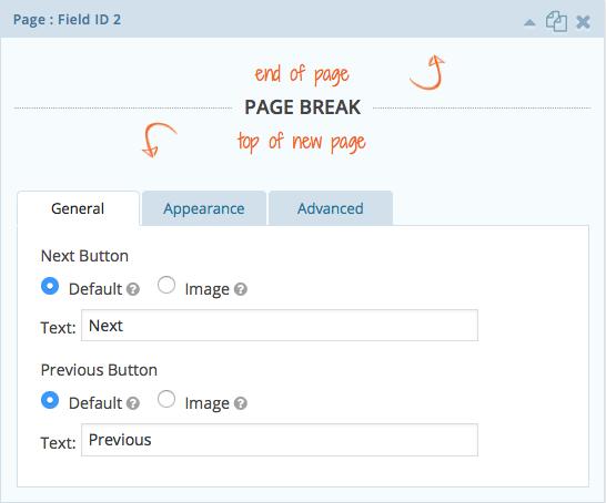 Page Break General