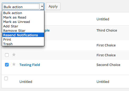 Resend Notifications 2 Gravity Forms Documentation