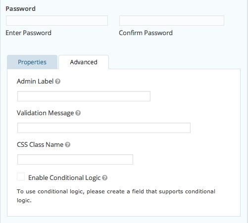 Password Advanced