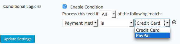Conditional Payments - Tower MSA