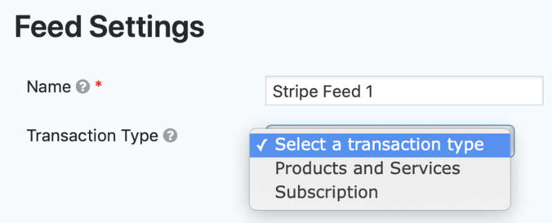 Creating a Feed for the Stripe Add-On - Gravity Forms Support