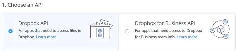 Creating a Custom Dropbox App - Gravity Forms Documentation