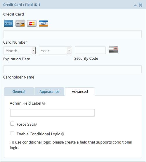 Credit Card Advanced