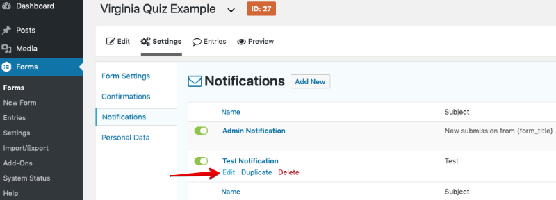 Sending Notifications To Multiple Recipients- Gravity Forms