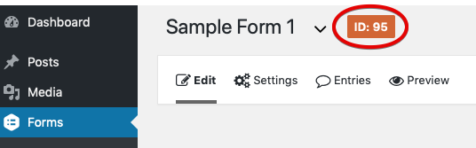 Creating a Form Shortcode - Gravity Forms Documentation